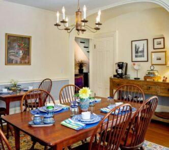 Abigail's Inn dining room