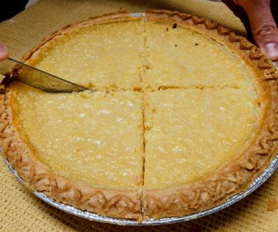 Lemon chess pie elms of camden