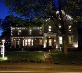 Windward House at Night
